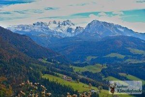 Auf den Gipfeln liegt der erste Schnee - Bergwandergebiet Hornspitz - Zwieselam- Gosaukamm